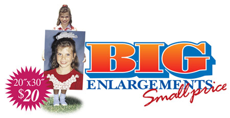 Professional Quality Digital Enlargements